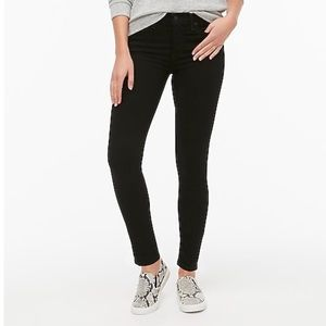 J. Crew Factory black skinny ankle jeans, size 32